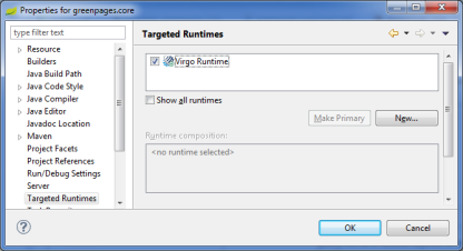 Targeted Runtimes